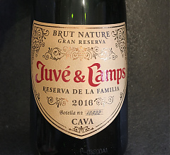Juve&Camps brut nature 2016
